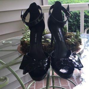 Nine West Black Patent Black Heels